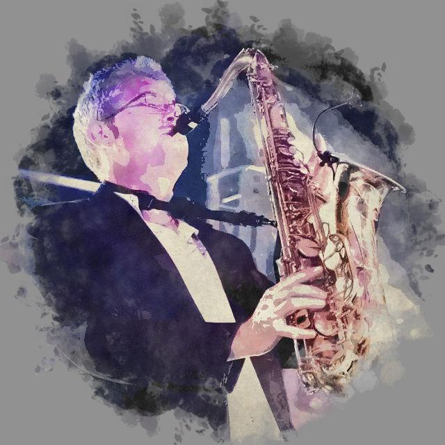 Stéphane Dano au saxophone